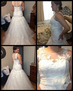 first fitting keep the neckline or change to sweetheart With how to alter a wedding dress