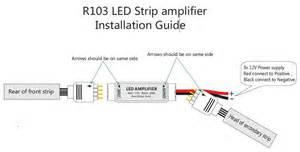 12v Dc Led Lights by Ultra Slim Mini Rgb Led Strip Amplifier