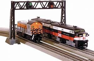Dual Track Signal Bridge W   New Leds