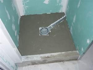 étanchéité Salle De Bain : douche sur plancher bois la pose du receveur ~ Edinachiropracticcenter.com Idées de Décoration