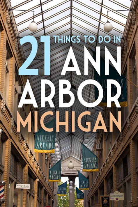 21 Things to Eat, See & Do in Ann Arbor, Michigan - Global ...