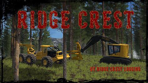 FS17 Ridge Crest Logging Map http://www.farming2015mods