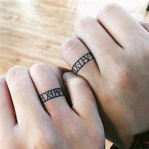 60 hearwarming wedding ring tattoo ideas the new for Wedding ring tattoos cost
