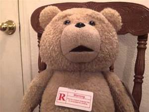 Talk Like Ted Official Ted Plush Rated R Version Youtube