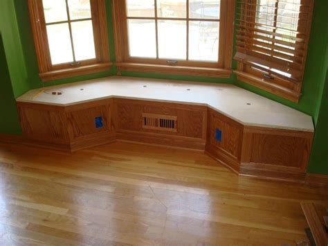 bay window benches bay window bench by captferd lumberjocks com woodworking community
