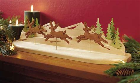 reindeer  flight woodworking plan  wood magazine