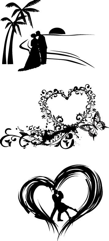 wedding card white designs clipart