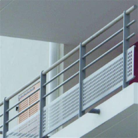 garde corps en aluminium 224 design acier pour toiture terrasse accessible et balcon lotentic