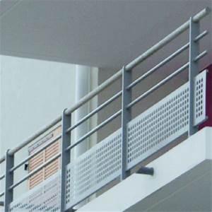 Garde Corps Terrasse Aluminium : garde corps en aluminium design acier pour toiture terrasse accessible et balcon lotentic ~ Melissatoandfro.com Idées de Décoration