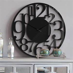 Wanduhr Weiß Modern : xxl wanduhr aus acrylglas modern 70 cm wall ~ Eleganceandgraceweddings.com Haus und Dekorationen