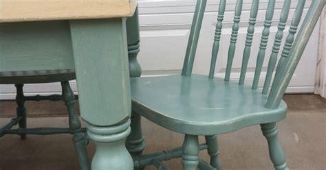 Distressing Wood Furniture by Annie Sloan Chalk Paint Old Ochre And Duck Egg Blue