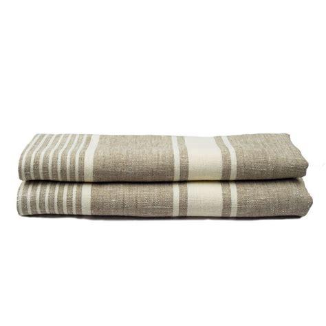 striped linen bath towel jan de luz linens