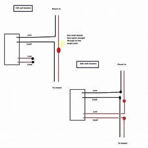 Electric Baseboard Heater Wiring