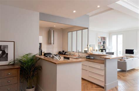 cuisines ouvertes sur salon photos plan cuisine ouverte sur salon cuisine ouverte avec ilot