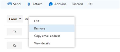 Office 365 Outlook Unable To Send Email by Unable To Send Email From Alias On Second Domain In Office