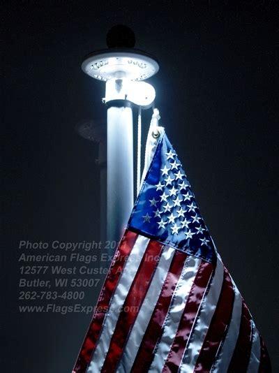 solar flag light solar light for flagpoles