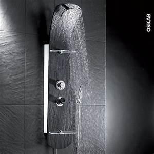Colonne De Douche En Angle : colonne de douche nerea mitigeur thermostatique nf noire ~ Edinachiropracticcenter.com Idées de Décoration