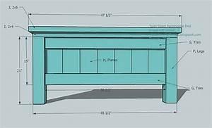 twin farmhouse bed woodworking plans - WoodShop Plans