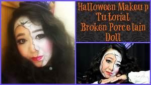 Porcelain Doll Halloween Makeup Tutorial