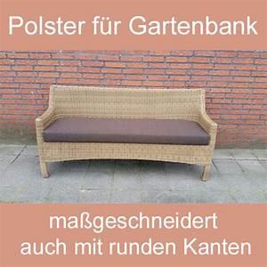 Gartenbank Auflage Nach Maß : gartenbank sitzbank polsterauflage sitzpolster nach ma ~ Bigdaddyawards.com Haus und Dekorationen