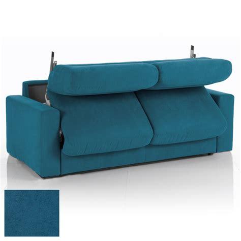 canap tissu d houssable beautiful canape bleu convertible images design trends