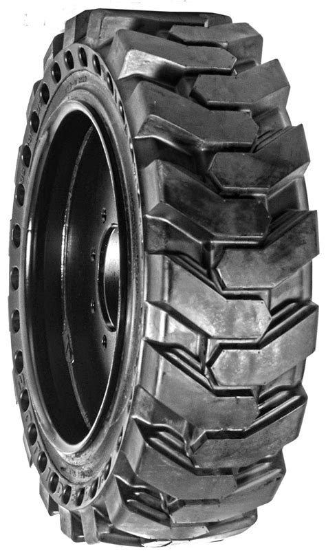 Skid Steer Solid Rubber Tires   Camso, MWE   Tracks and Tires