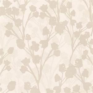 Brewster 56.4 sq. ft. Lawson Beige Botanical Silhouette ...