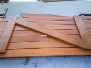 Comment Reparer Des Volets En Bois Abimes : fabrication des volets 1 construction de notre cocon ~ Premium-room.com Idées de Décoration