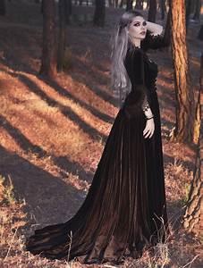 Black Velvet Marie Antoinette Queen Theatrical Victorian
