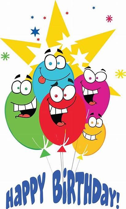 Birthday Balloons Happy Clip Clipart Balloon Cartoon