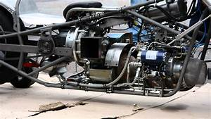 Jet Engine Testing Drag Jet Bike