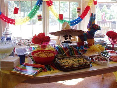 Decorating Themes : Mexican Cinco De Mayo Party Ideas