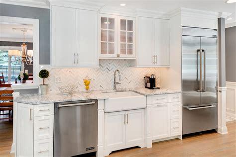 timeless grey  white kitchen middletown  jersey