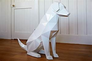Geometric Animal Sculptures by Ben Foster   Colossal