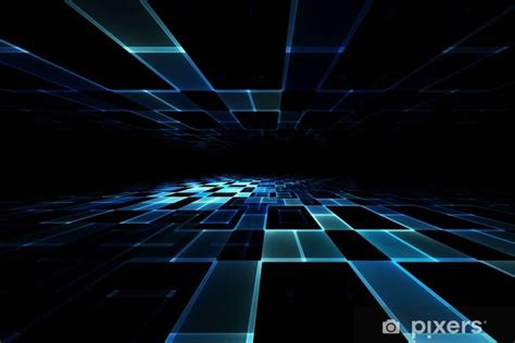 abstract futuristic background wall mural pixers