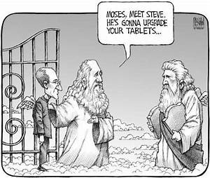 When God, Moses, and Steve Jobs meet … (humour) | Bobbi's Blog