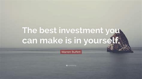 warren buffett quote   investment