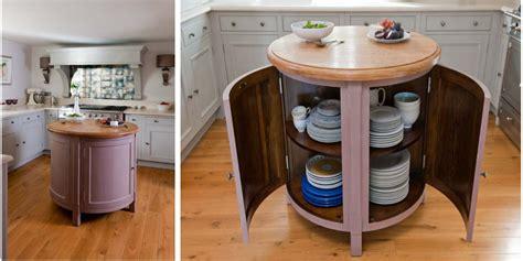small movable kitchen island small circular movable kitchen island table