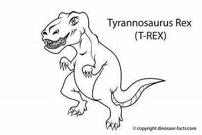 Dinosaur Coloring Pages Dinosaurs Easy Odd Dr