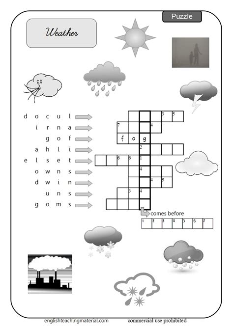 weather worksheet