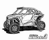 Polaris Utv Rzr Vector Xp1000 Clip Clipart Drawings Cars Coloring Cool Rod Line Pages Razor Drawing Sheets Realistic Decal Automotive sketch template