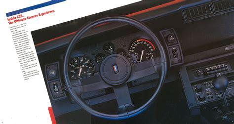 1986 Chevrolet Camaro brochure