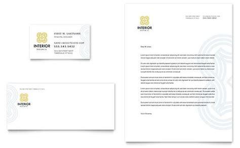 interior design sample letterhead template  images