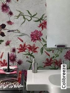 Tapete Für Badezimmer : die besten 17 ideen zu badezimmer tapete auf pinterest badezimmer wandfarbe minzgr ner ~ Watch28wear.com Haus und Dekorationen
