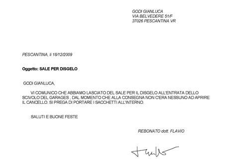 lettera al condominio condominio belvedere bacheca virtuale del condominio