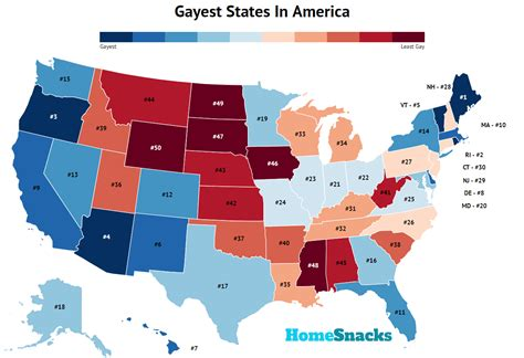 To see top lgbt neighbourhoods on the east coast, be sure to visit these three vibrant districts, for fun, food, culture and new friends. THE 10 GAYEST States In America, 2020 - RoadSnacks