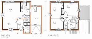 Plan Maison A Etage 4 Chambres 12 Gratuit KIRAFES