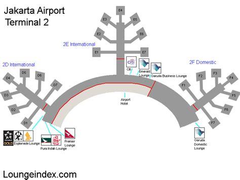 cgk jakarta airport guide terminal map airport guide