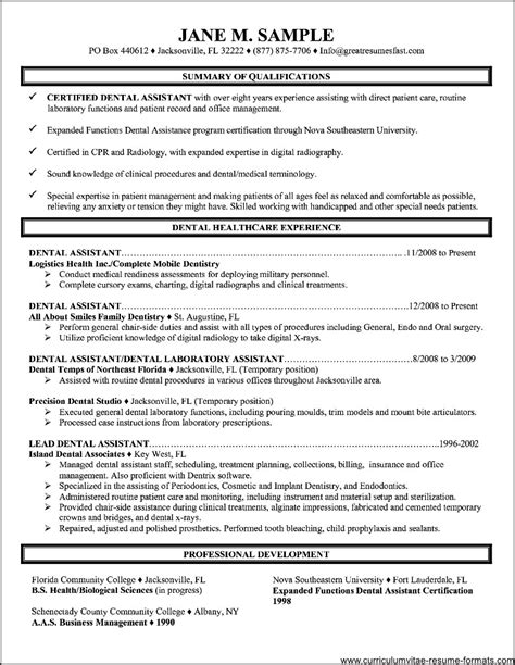 free sle resume of office administrator