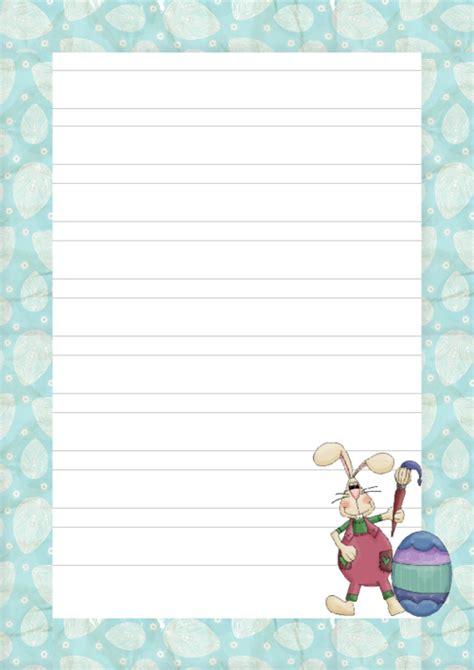 easter bunny writing paper printable kidspressmagazinecom